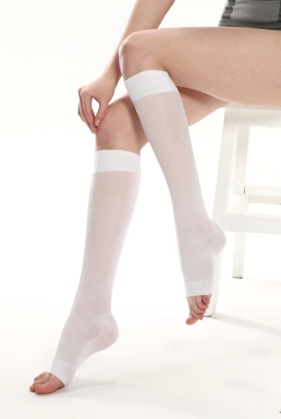 Anti-Embolism Knee High Stockings-open toe