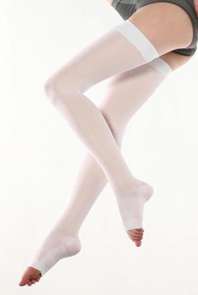 Anti-Embolism Thigh High Stockings open toe